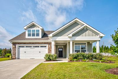 Evergreen at Flowers Plantation New Homes in Clayton, NC