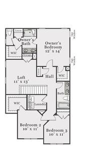 Second Floor. Alexander Home with 3 Bedrooms