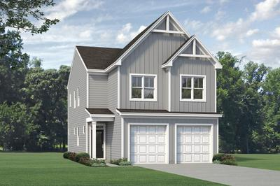 Elevation A. 1,760sf New Home