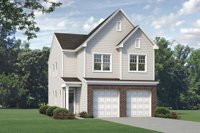 Elevation B. 1,760sf New Home