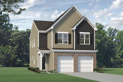 Elevation C. Alexander New Home Floor Plan