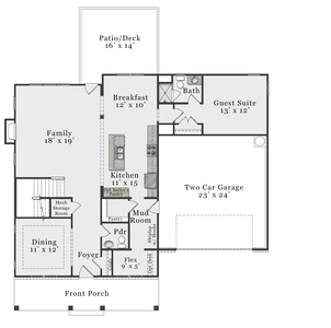 Classic First Floor. Beaufort 2020 Home with 4 Bedrooms