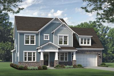 Craftsman. Beaufort 2020 New Home Floor Plan