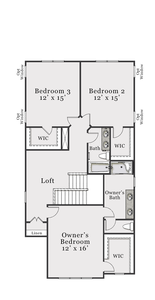 Second Floor C. Bolivia, NC New Home