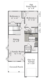 First Floor B. 3br New Home in Raleigh, NC