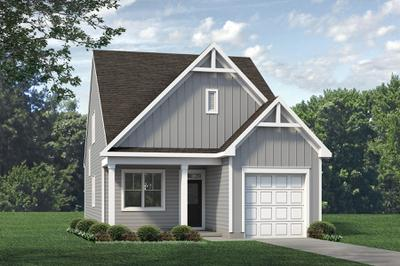 Elevation A. 3br New Home in Raleigh, NC