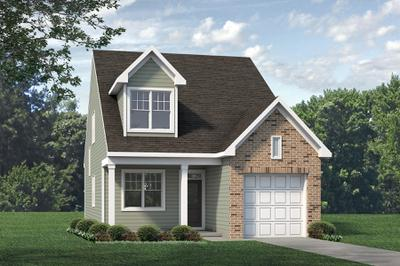 Elevation B. 3br New Home in Raleigh, NC