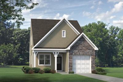 Elevation C. Joyner New Home Floor Plan