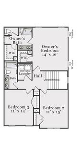 Second Floor A & B. Metcalf New Home Floor Plan
