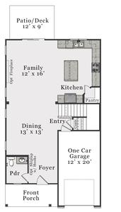 First Floor B. Metcalf Home with 3 Bedrooms