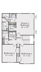 Second Floor C. Metcalf New Home Floor Plan