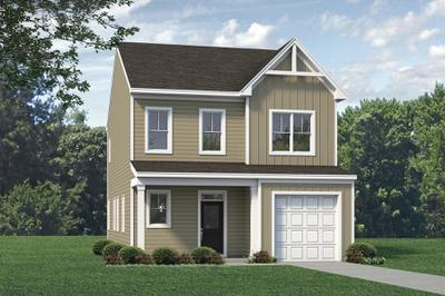 Elevation A. Metcalf New Home Floor Plan