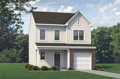 Elevation B. Metcalf New Home Floor Plan