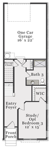 First Floor B. 3br New Home in Wake Forest, NC