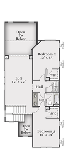 Second Floor. 3br New Home in Bolivia, NC