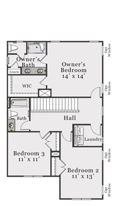 Second Floor A & C. 1,733sf New Home in Bolivia, NC