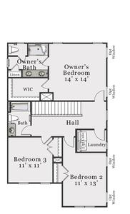 Second Floor B. Bolivia, NC New Home