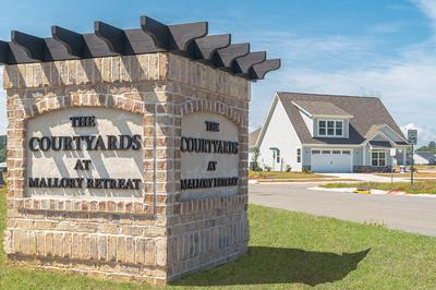 The Courtyards at Mallory Retreat New Homes in Winnabow, NC