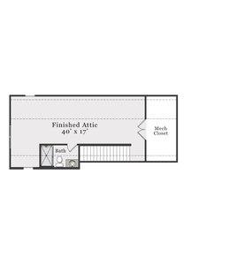 Optional Third Floor with Finished Bath. 2,929sf New Home