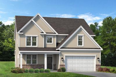 Classic. Brooks 2020 New Home Floor Plan
