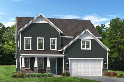 Craftsman. 2,929sf New Home