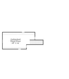 Third Floor. Clark 2020 New Home in Raeford, NC