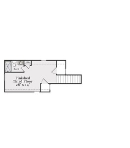Optional Finished Third Floor. 3,353sf New Home in Raeford, NC