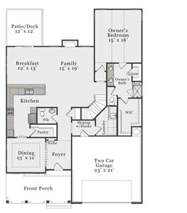 European First Floor. 4br New Home in Raeford, NC