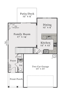 Coastal First Floor. 3br New Home in Leland, NC