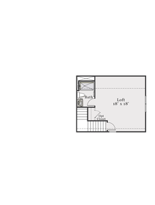 Second Floor. 1,520sf New Home in Supply, NC