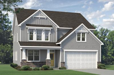 Craftsman. Nelson 2020 New Home in Aberdeen, NC