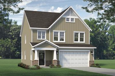 Craftsman. Sullivan 2020 New Home in Supply, NC