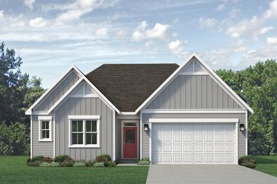 Coastal. Tucker 2020 New Home in Leland, NC