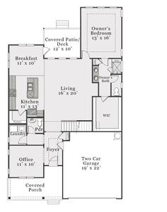 Coastal First Floor. 4br New Home in Aberdeen, NC