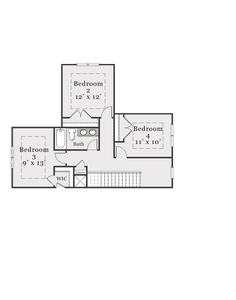 Second Floor. 4br New Home in Aberdeen, NC