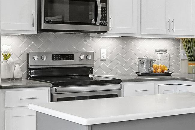 top home design trends -tile herringbone pattern