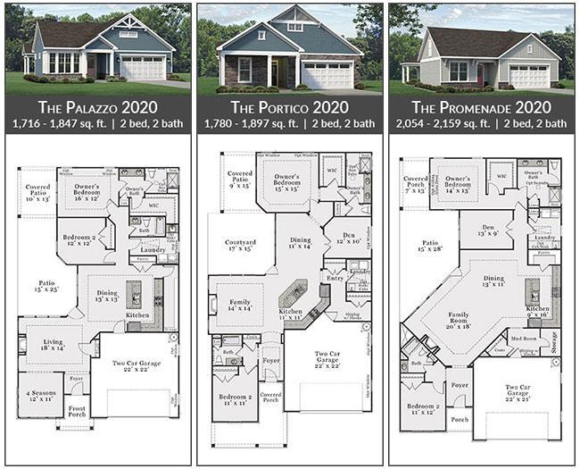 Epcon P Series Floorplans