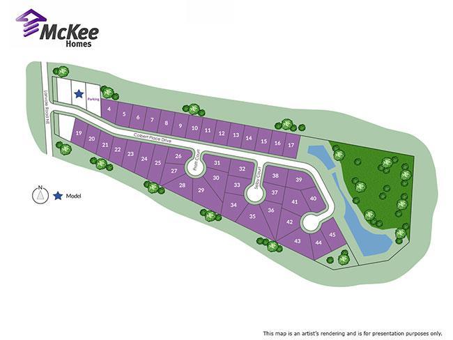 Colbert Place sitemap