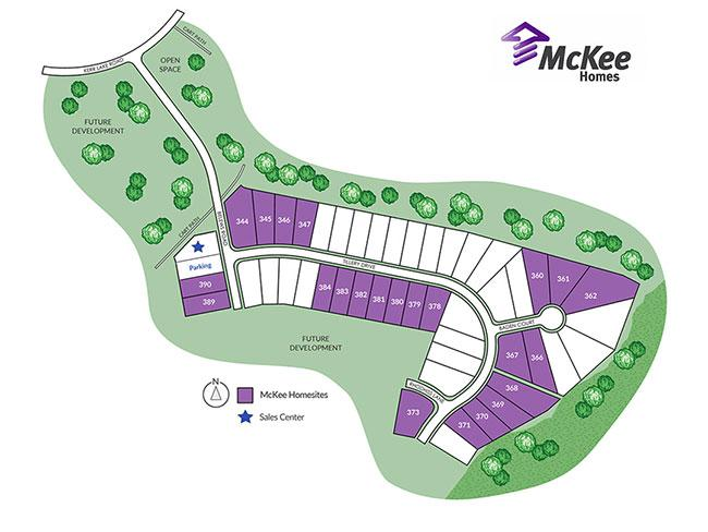 Enclave at Legacy Lakes sitemap