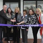Mayor of Leland Cuts Ribbon at McKee Design Studio Grand Opening