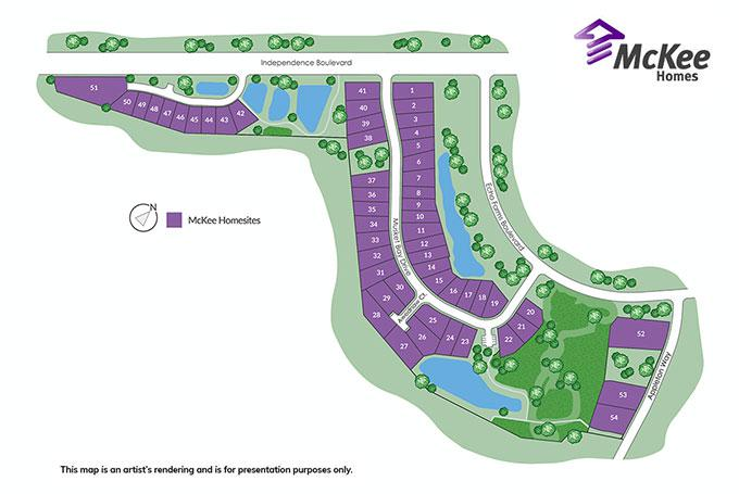 woodlands at echo farms sitemap