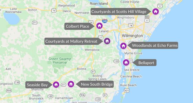 Wilmington Community Map