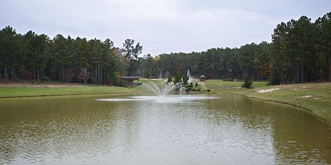 Anderson Creek Club lake