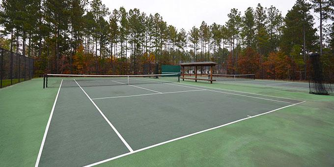 Anderson Creek Club tennis court