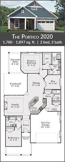 the portico 2020 floorplan