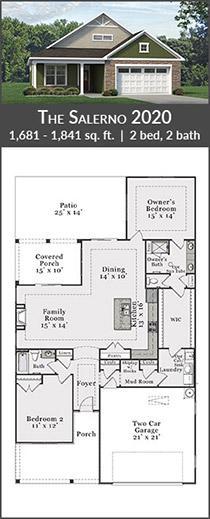 the salerno 2020 floorplan
