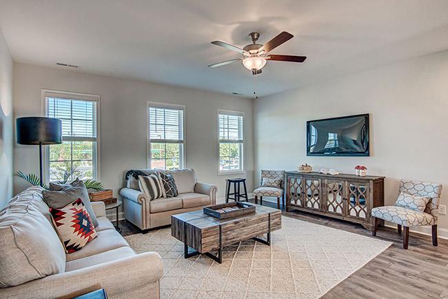 the polk floorplan living room