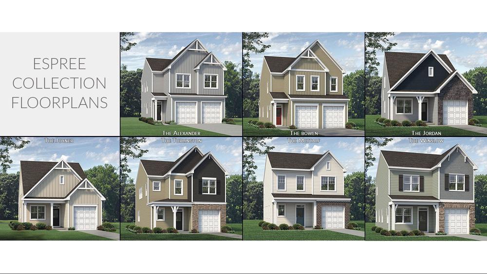 McKee Homes Espree Collection Floorplans