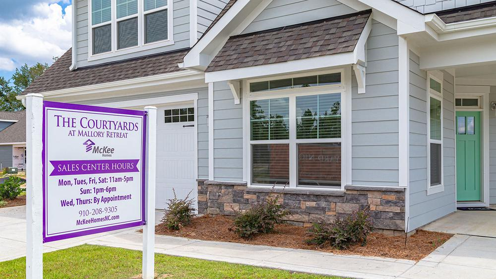 New McKee Homes Community Sales Centers